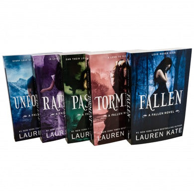 Lauren Kate Fallen Series 5 Book Collection
