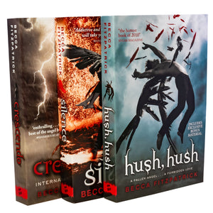 Hush Hush 3 Books Collection By Becca Fitzpatrick