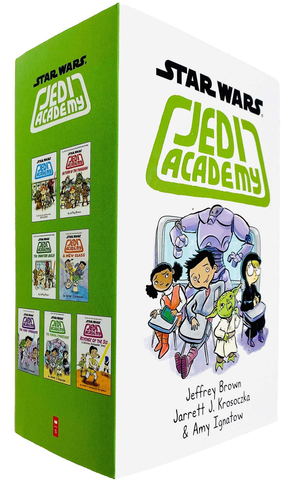 Star Wars Jedi Academy 7 Books Collection - Ages 9-14 - Paperback - Jeffrey Brown & Jarrett J. Krosoczka