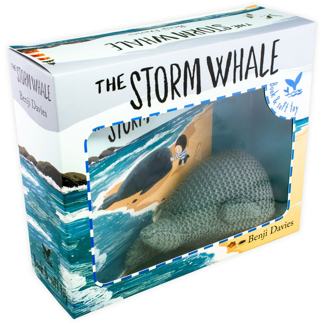 Storm Whale Book and Soft Toy