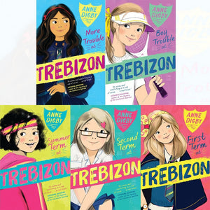 Anne Digby's Trebizon Boarding School 5 Books