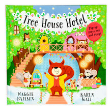 Load image into Gallery viewer, Tree House Hotel Pop Up Book