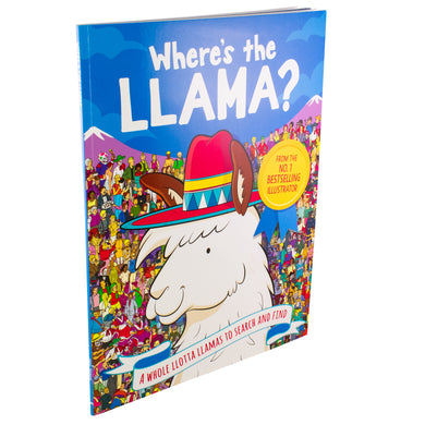 Where's the Llama? A Whole Llotta Llamas to Search and Find
