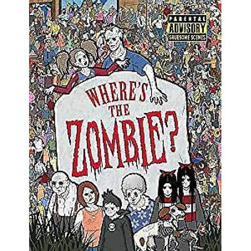 Where's The Zombie? Search and Find Book