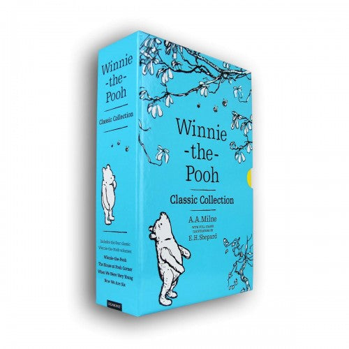 Winnie The Pooh Classic 4 Books Children Collection By A A Milne