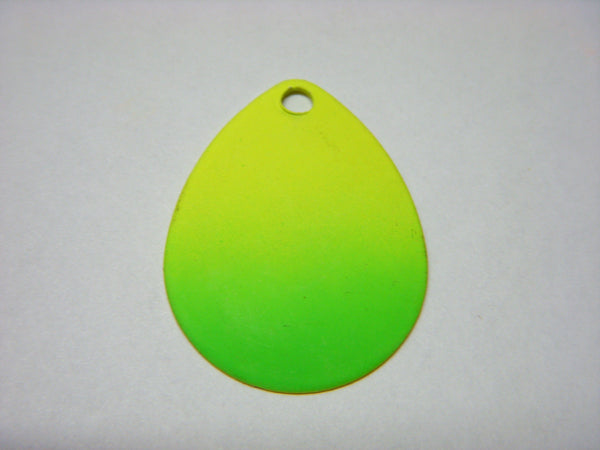 Colorado Yellow Green Splash Spinner Blade
