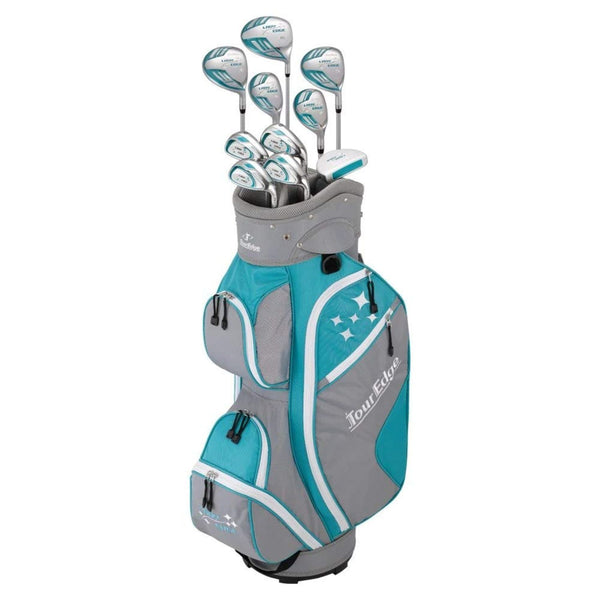 Tour Edge 2020 Lady Edge Full Set Turquoise Grey White Plus