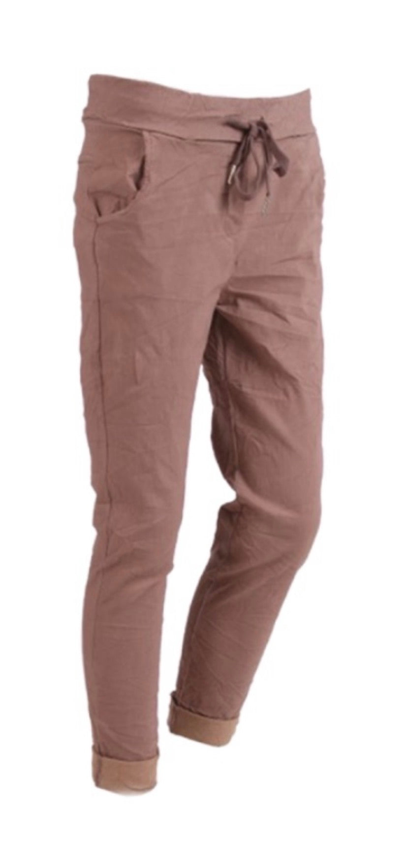 Magic Stretch Plain Trousers