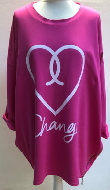 Heart Change Top