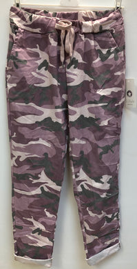 Plus Size New In Camo Magic Trousers