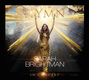 Sarah Brightman HYMN IN CONCERT - Deluxe Edition Blu-ray/CD - Sarah Brightman