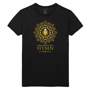 Sacred Heart Black Tee - Sarah Brightman