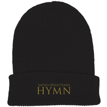 Load image into Gallery viewer, NEW HYMN Beanie - Black - Sarah Brightman