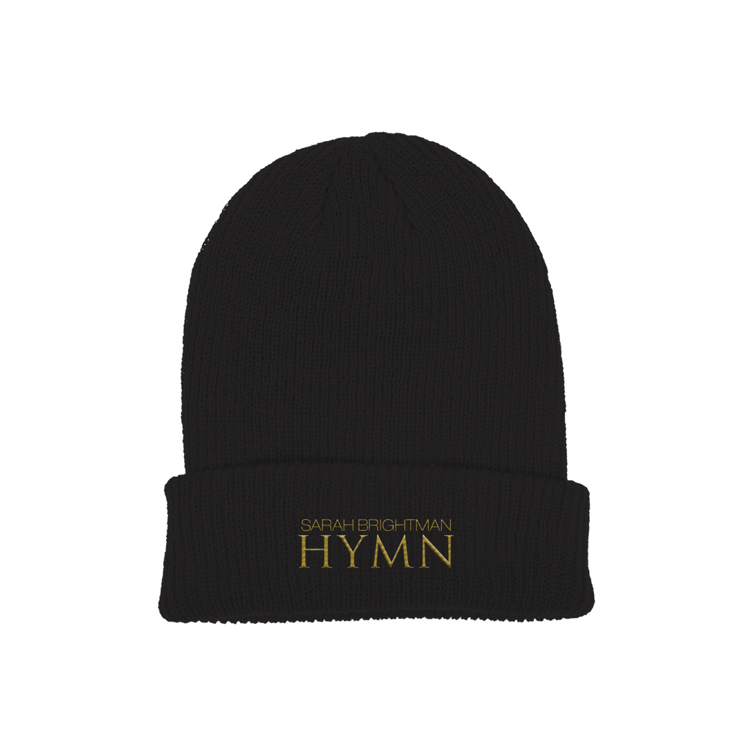 NEW HYMN Beanie - Black - Sarah Brightman