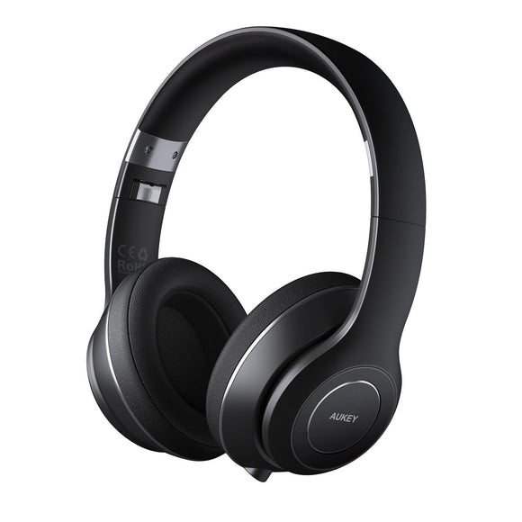 Aukey EP-B52 Premium Foldable On-Ear Wireless Bluetooth 4.1 Headphones