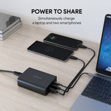 Aukey PA-Y12 72W USB C Power Delivery 3.0 & Dual Port USB Desktop Charger