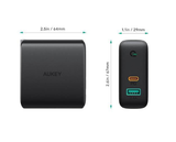 Aukey PA-D3 Dual-Port 60W PD Wall Charger with Dynamic Detect