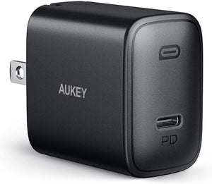 [Upgraded] iPhone Fast Charger, AUKEY PA-F1S Swift 20W USB C Charger for iPhone 12/12 Mini/12 Pro Max, Foldable Plug &Power Delivery 3.0, PD Charger Adapter USB C Wall Charger for iPad Pro/AirPods Pro/Switch