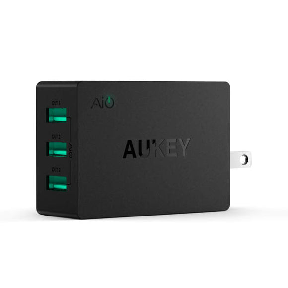 Aukey 3 Port 30W USB Wall Charger