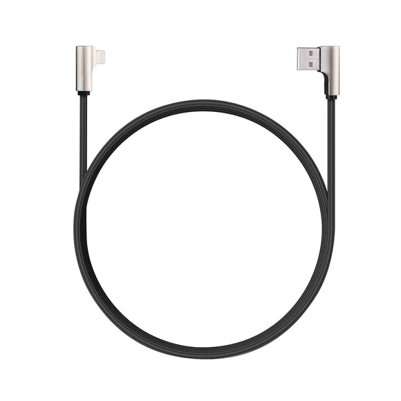 Aukey CB-BAL6 Right Angle Gaming MFi Lighting Cable - 1.2m
