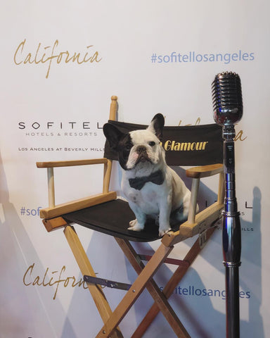 Spotted Humphrey at Sofitel Los Angeles in Beverly Hills