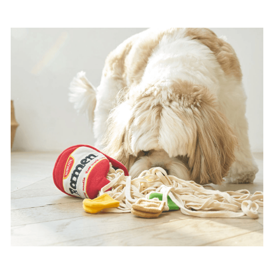Ramen Noodle Nose Work Dog Toy Toy Howlpot