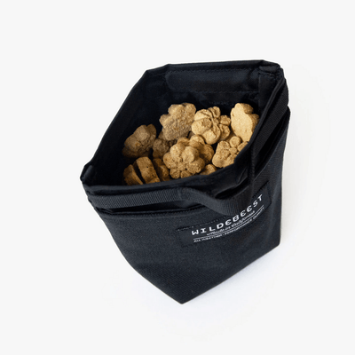 Alamo Dog Treat Pouch - Black