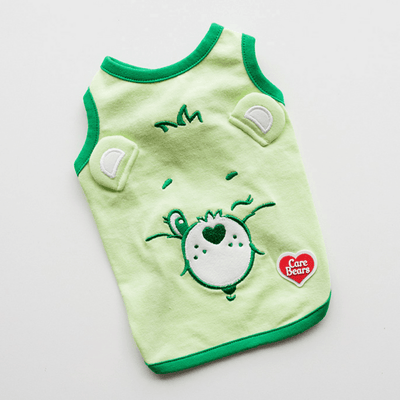 Care Bears Pop-Up Ears Sleeveless - Good Luck Bear (Green) Clothing Dentists Appointment