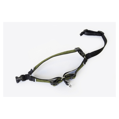 Linden No Pull Dog Harness - Olive Green