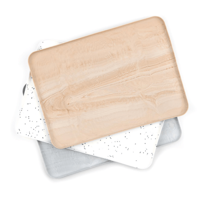 Wood Wonder Tray / Silicone Placemat