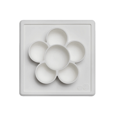 Flower Compartments Silicone Mat (Slow Feeder) - Cream