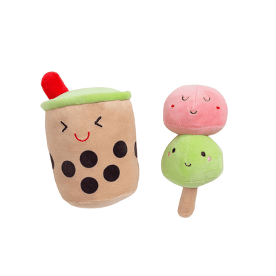 Boba and Mochi Dog Toys (Set of 2) Toy Pearhead