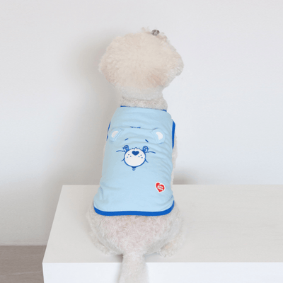 Care Bears Pop-Up Ears Sleeveless - Bedtime Bear (Blue)