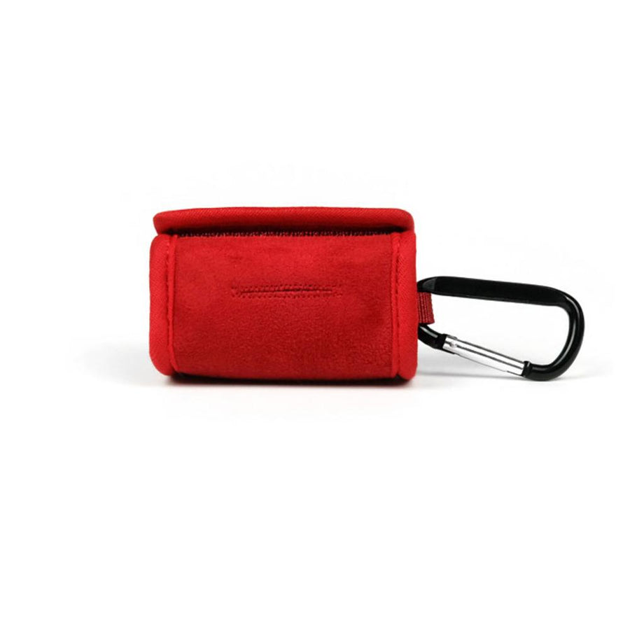 Easy Leash Bag - Red Leash Accessories Charlie's Backyard