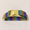 Pride Stripes Dog Collar (Matching Masks Available!)
