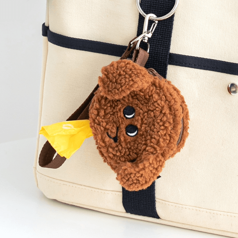Doodie Poop Bag Holder Leash Accessories Bite Me