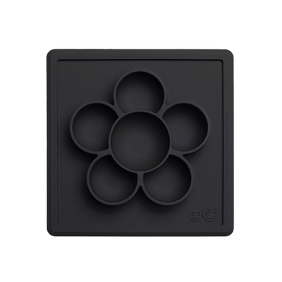 Flower Compartments Silicone Mat (Slow Feeder) - Slate