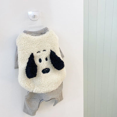Floppy Ears Snoopy Teddy Vest