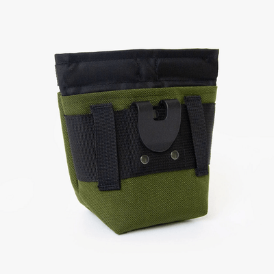 Alamo Dog Treat Pouch - Olive Green