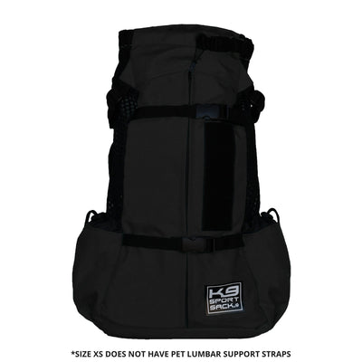 K9 Sport Sack Air 2 Dog Carrier Backpack - Black