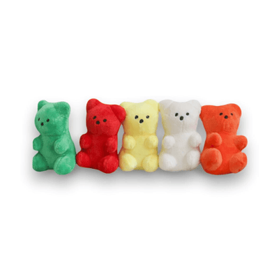 Gummy Bear Dog Toy (5 Colors!)