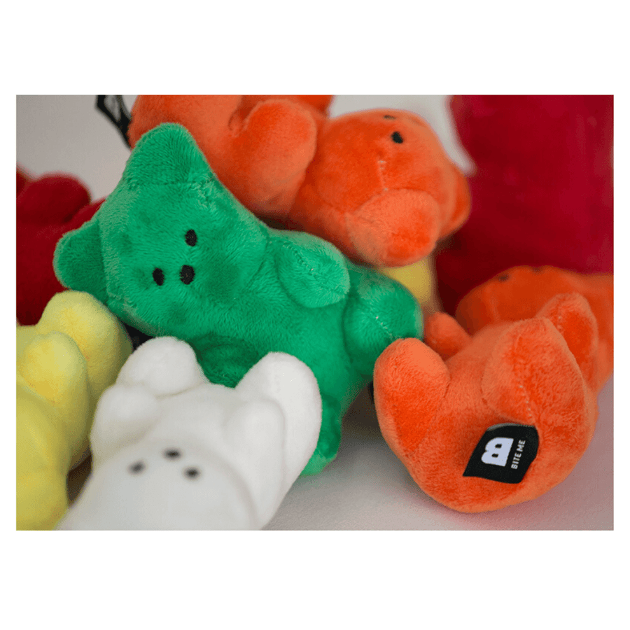 Gummy Bear Dog Toy (5 Colors!) Toy Bite Me