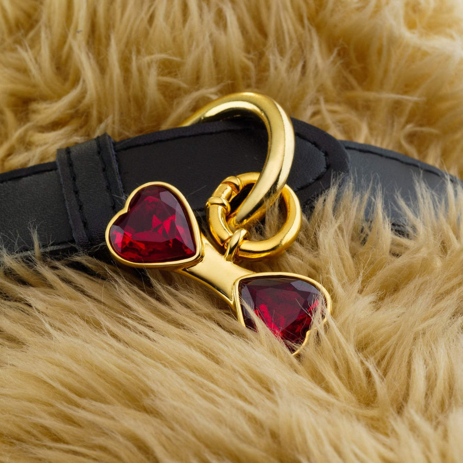 Ruby Red Bone Charm (RHODIUM)