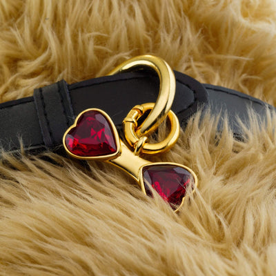 Ruby Red Bone Charm