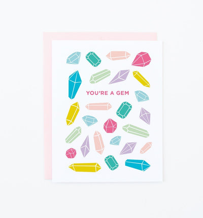 You're A Gem - Greeting Card Stationery Graphic Anthology