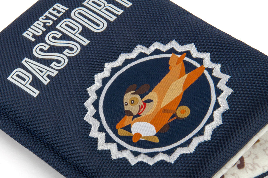 Pupster Passport Toy