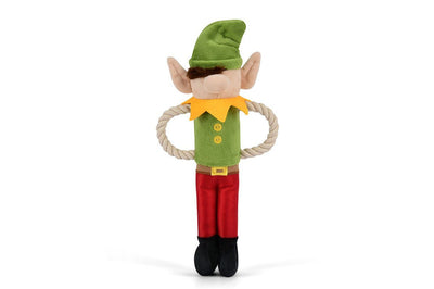 Santa's Little Elf-er Holiday Dog Toy