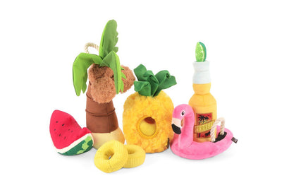 Tropical Paradise Canine Cerveza Dog Toy Toy P.L.A.Y.