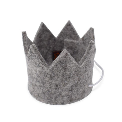 Party Beast Crown - Silver Grey