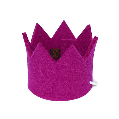 Party Beast Crown - Fuchsia